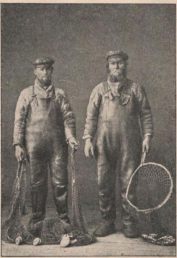 Рис. 126. Двинскіе рыбаки.